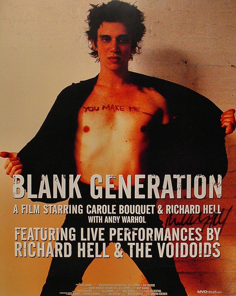 Richard Hell Poster