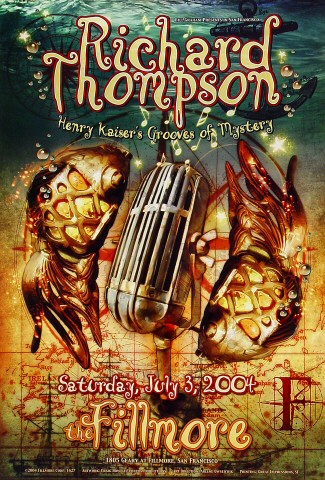 Richard Thompson Poster