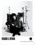 Richard X. Heyman Promo Print