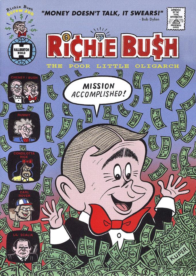 Richie Bush Comic Book