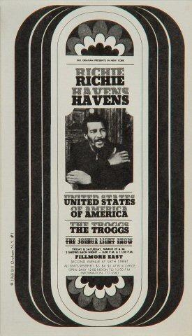 Richie Havens Postcard