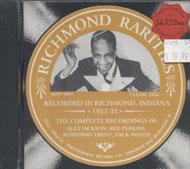 Richmond Rarities CD