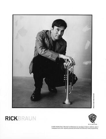 Rick Braun Promo Print