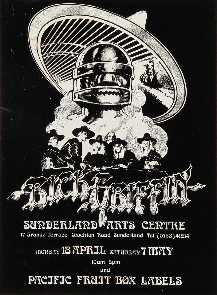 Rick Griffin Exhibition Handbill