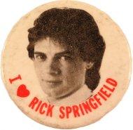 Rick Springfield Pin