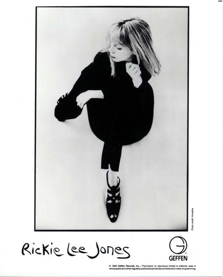 Rickie Lee Jones Promo Print