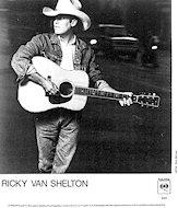 Ricky Van Shelton Promo Print