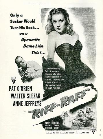 Riff-Raff Vintage Ad