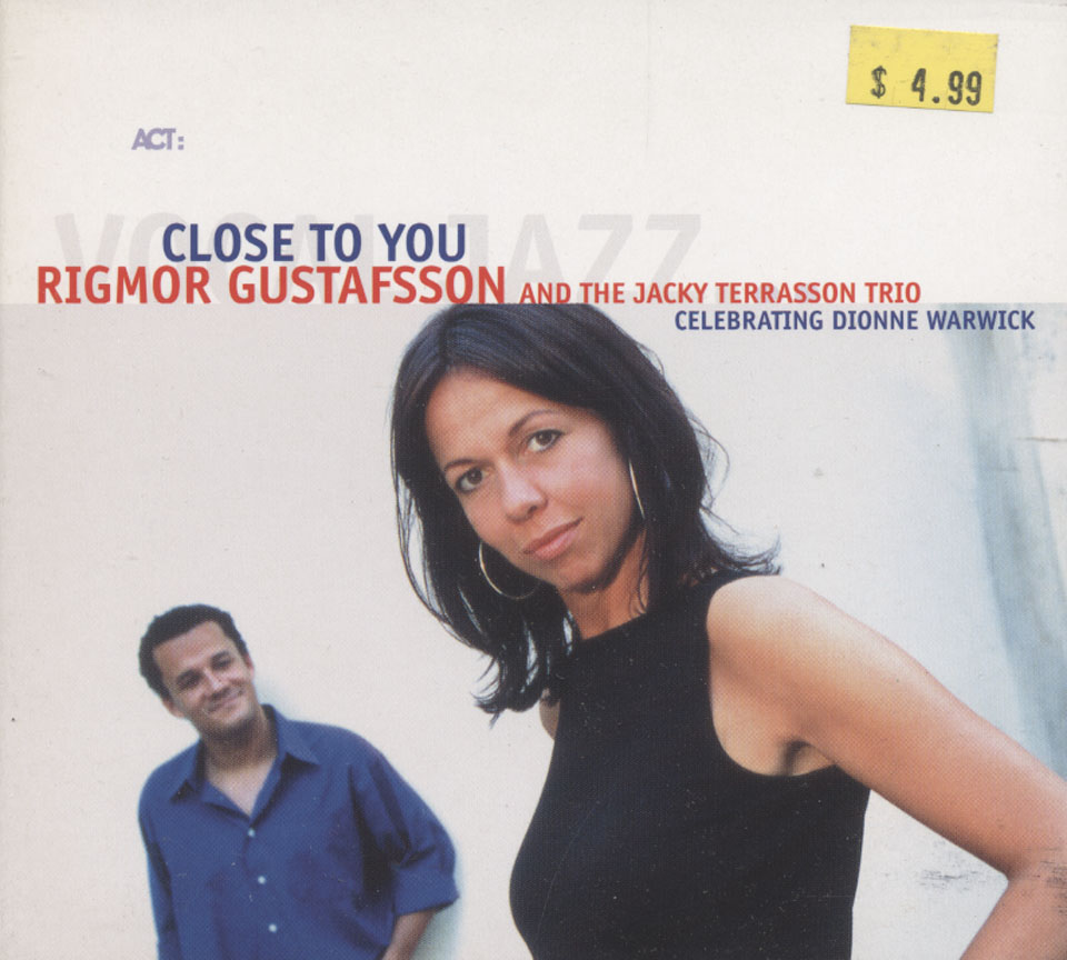 Rigmor Gustafsson and the Jacky Terrasson Trio CD