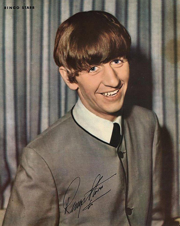 Ringo Starr Promo Print