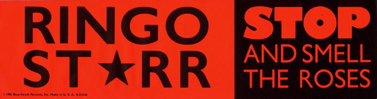 Ringo Starr Sticker