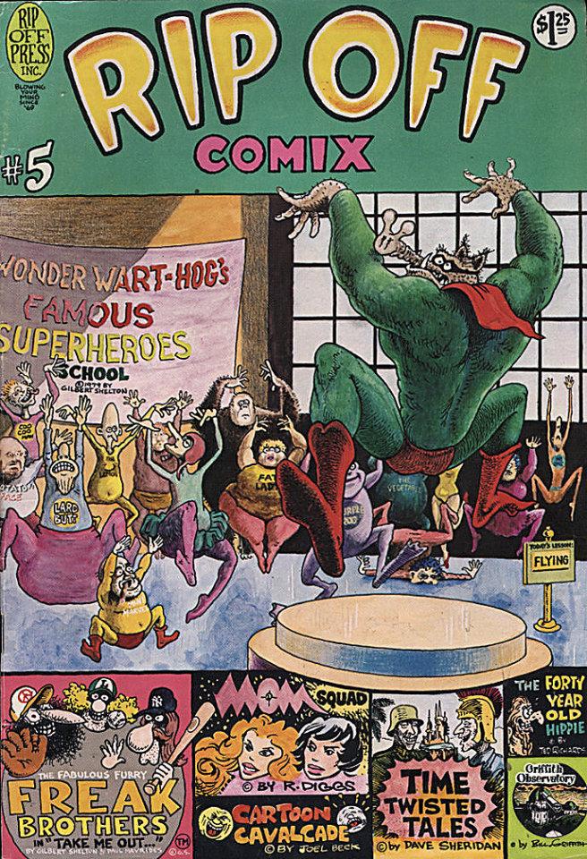 Rip Off Comix #5 Comic Book