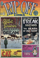 Rip Off Comix #6 Comic Book
