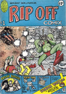 Rip Off Comix No.1 Comic Book
