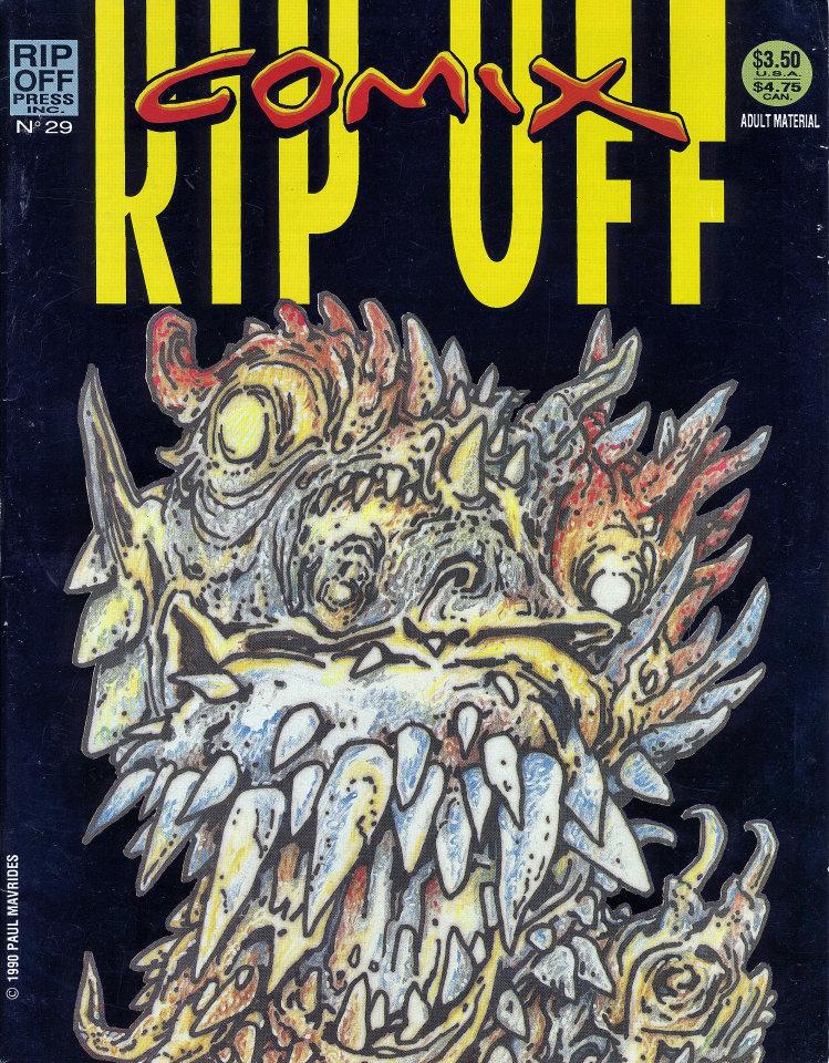 Rip Off Comix No. 29 Comic Book