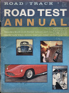 Road & Track Annual Road Test Magazine