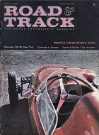 Road & Track Vol. 11 No. 8 Magazine