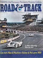 Road & Track Vol. 23 No. 1 Magazine