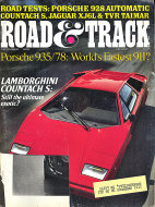 Road & Track Vol. 30 No. 4 Magazine