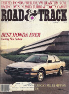 Road & Track Vol. 34 No. 9 Magazine