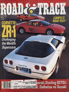 Road & Track Vol. 40 No. 10 Magazine