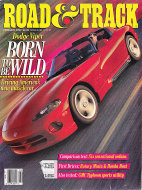 Road & Track Vol. 43 No. 6 Magazine