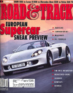 Road & Track Vol. 52 No. 8 Magazine