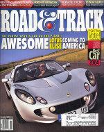 Road & Track Vol. 55 No. 3 Magazine