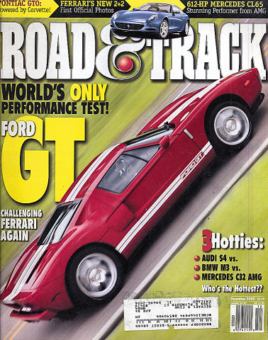 Road & Track Vol. 55 No. 4 Magazine