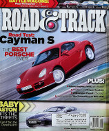 Road & Track Vol. 57 No. 3 Magazine