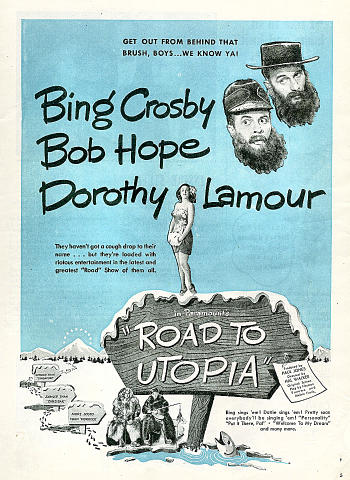 Road To Utopia Vintage Ad