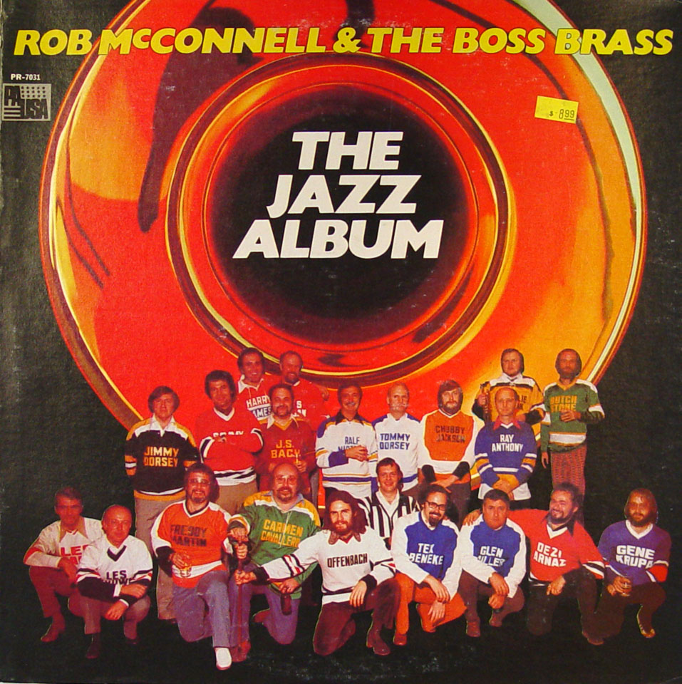 "Rob McConnell & The Boss Brass Vinyl 12"" (New)"