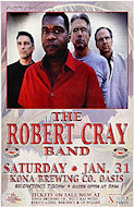 Robert Cray Band Poster