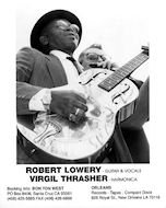 Robert Lowery Promo Print