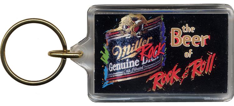 Robert Plant Keychain reverse side