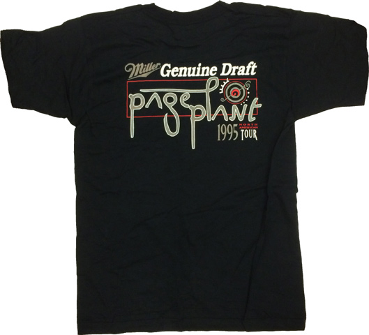 Robert Plant Men's Vintage T-Shirt reverse side