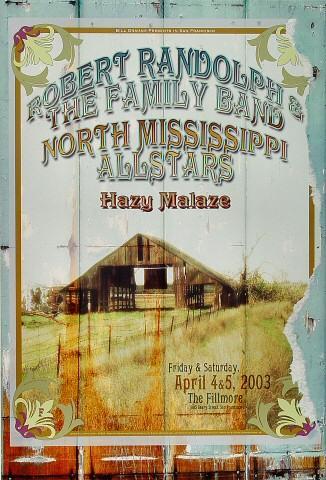 Robert Randolph & the Family Band Poster