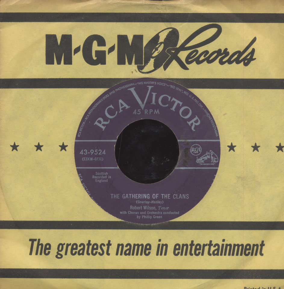 "Robert Wilson Vinyl 7"" (Used)"