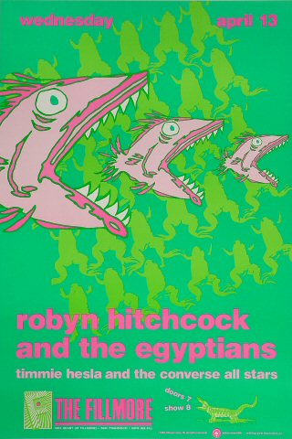 Robyn Hitchcock & The Egyptians Poster