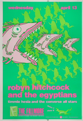 Robyn Hitchcock & The Egyptians Proof