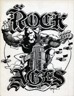Rock Ages Magazine Spring 1982 Handbill