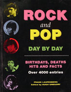 Rock And Pop Day By Day Book