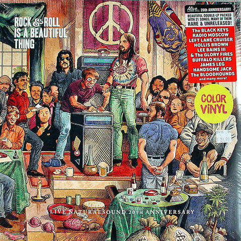 """Rock & Roll Is A Beautiful Thing Vinyl 12"""" (New)"""