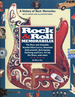 Rock & Roll Memorabilia Book