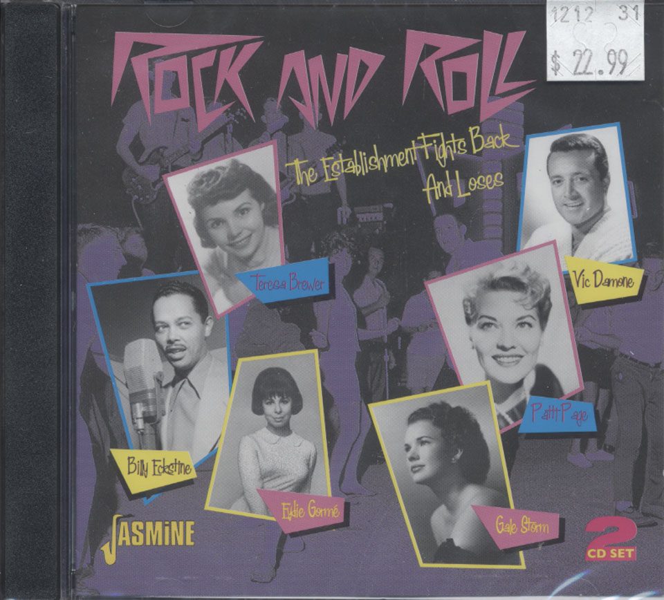 Rock And Roll: The Establishment Fights Back And Loses CD