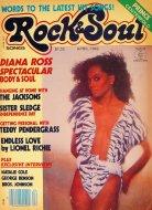 Rock & Soul Magazine April 1982 Magazine