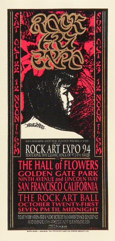 Rock Art Expo '94 Handbill