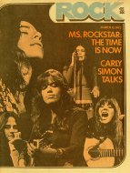 Rock Magazine March 13, 1972 Magazine
