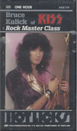Rock Master Class Hot Licks VHS