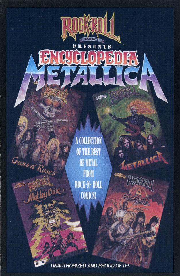 Rock ' N' Roll Comics: Encylopedia Metallica